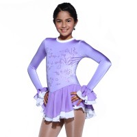 Classic Violeta Figure Skating Dress