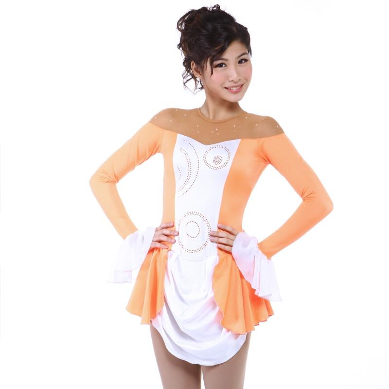 大众最爱 Malika 花样滑冰表演服比赛裙