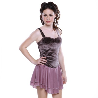 Classic Gaia Figure Skating Dress