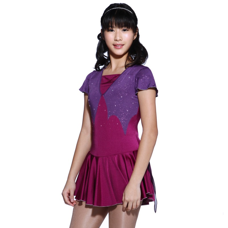 大众最爱 Juliette 花样滑冰表演服比赛裙