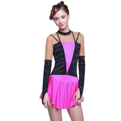 青春时尚 Natalia 花样滑冰表演服比赛裙