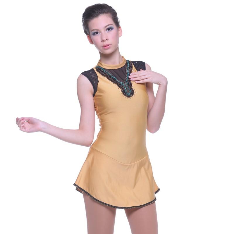 青春时尚 Ayana 花样滑冰表演服比赛裙
