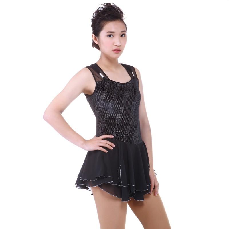 青春时尚 Zoe 花样滑冰表演服比赛裙