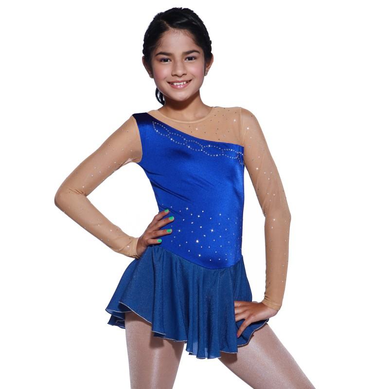 青春时尚 Liza 花样滑冰表演服比赛裙