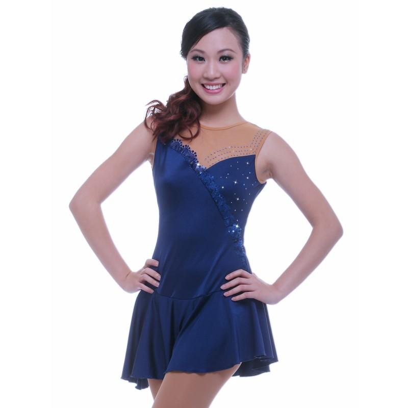青春时尚 Rachel 花样滑冰表演服比赛裙