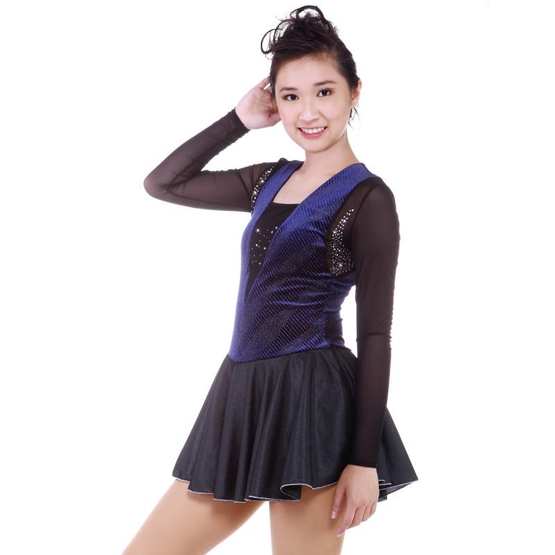 青春时尚 Olympia 花样滑冰表演服比赛裙