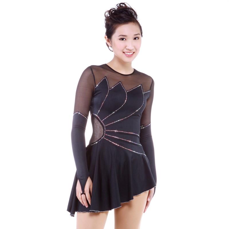 高端展现 Lotus 花样滑冰表演服比赛裙