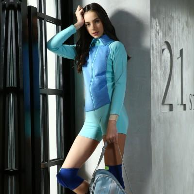 青春时尚 XAMAS 型格大领滑冰员钻石外套