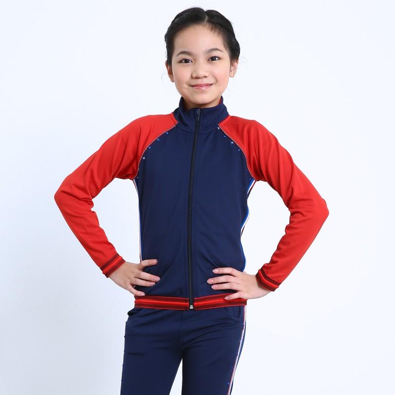 青春时尚 XAMAS 经典法国风滑冰员训练外套