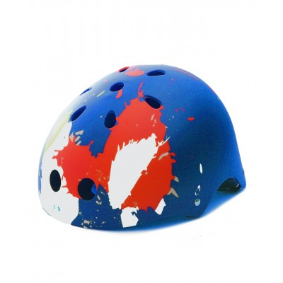 Premium Pro Skating Helmet Graffiti Splash