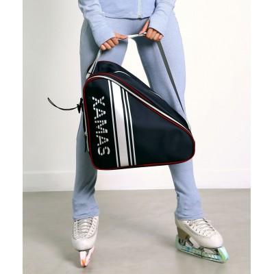 Premium Pro XAMAS De Luxe Skate Bag - Royal Blue Silver Print