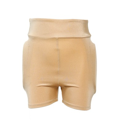 Classic Padded Protective Shorts - Nude