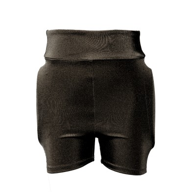 Classic Padded Protective Shorts - Black