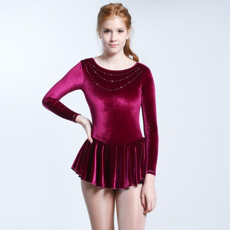 大众最爱 Naomi 花样滑冰表演服比赛裙