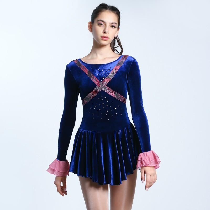 大众最爱 Kelly 花样滑冰表演服比赛裙