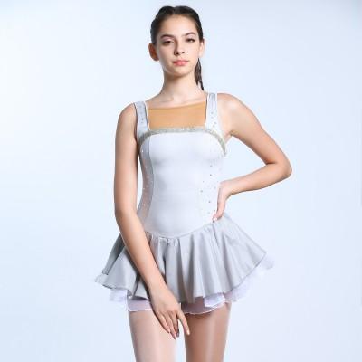 青春时尚 Angel 花样滑冰表演服比赛裙