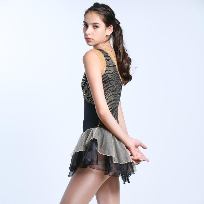 青春时尚 Antonella 花样滑冰表演服比赛裙