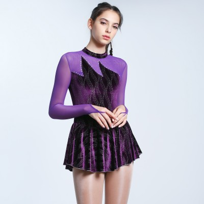 Trendy Pro Song Of Flames Figure Skating Dress