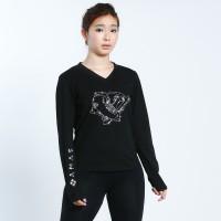 大众最爱 XAMAS 滑冰鞋图案长袖T恤