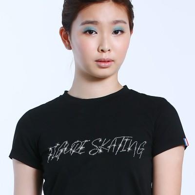 大众最爱 XAMAS 花样滑冰鞋图案短袖T恤