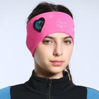 Classic Love Skate Snowflakes Headband