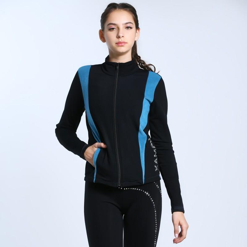 高端展现 Unisex 滑冰员外套