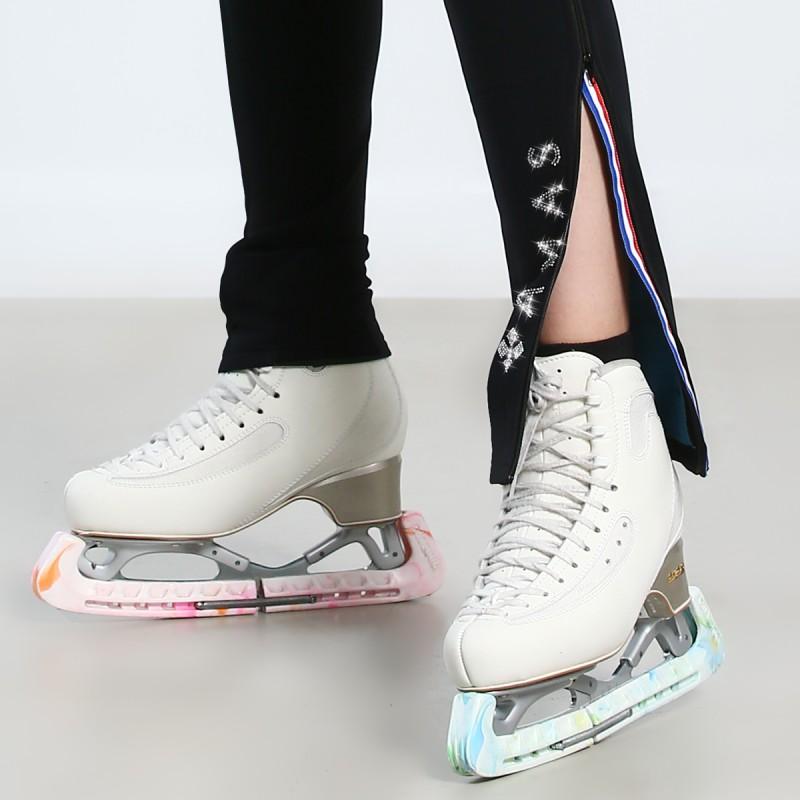 高端展现 Artica 全长拉链修身热身滑冰长裤