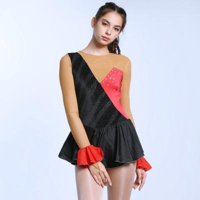 青春时尚 Belle 花样滑冰表演服比赛裙