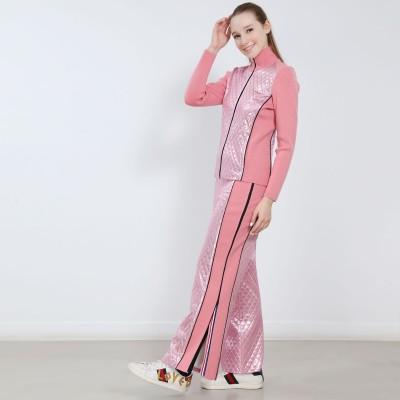 高端展现 Valentine Aura 二合一滑冰滑雪全长拉链滑冰长裤
