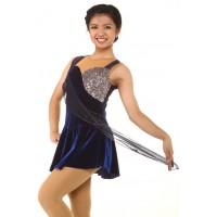 青春时尚 Larissa 花样滑冰表演服比赛裙