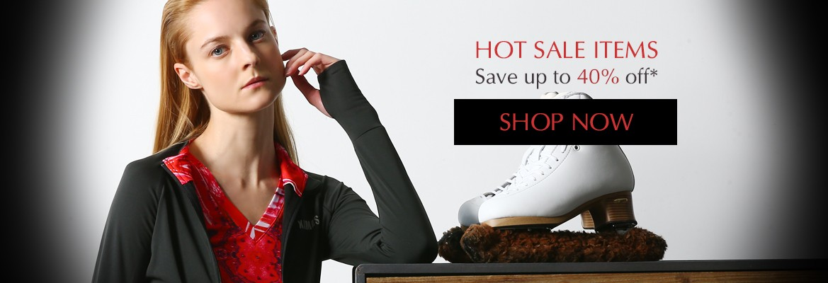 HOT SALE ITEMS. Save up to 40% off. SHOP NOW
